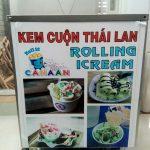 máy kem cuộn canaan
