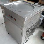 máy kem cuộn thái 1 chảo tròn thanh lý giá rẻ