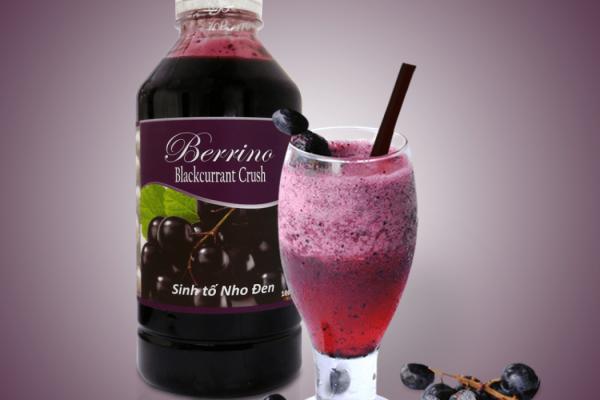 Mứt nho đen berrino